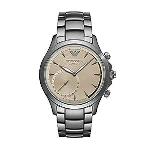 Emporio Armani Reloj Analogico para Hombre de Cuarzo con Correa en Acero Inoxidable ART3017