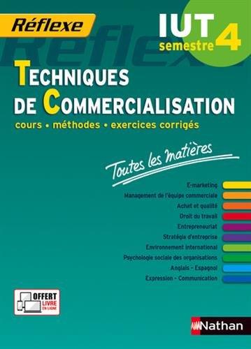 Toutes les matires IUT Techniques de Commercialisation  Semestre 4