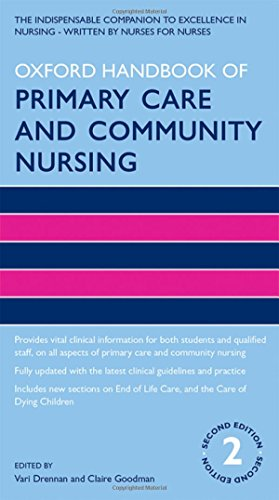 Oxford Handbook of Primary Care and Community Nursing 2/e (Oxford Handbooks in Nursing)