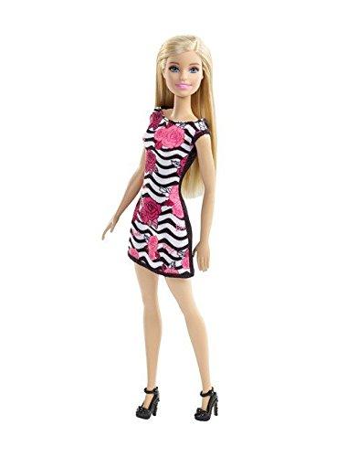 Preisvergleich Produktbild Mattel Barbie Chic mit trendy Kleid weiß/schwarz