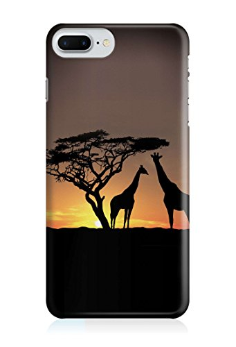 COVER Giraffe safari Handy Hülle Case 3D-Druck Top-Qualität kratzfest Apple iPhone 6 / 6S