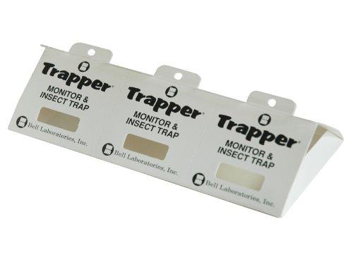 Trapper Insektenklebefalle 3-teilig mit Lockstofftablette