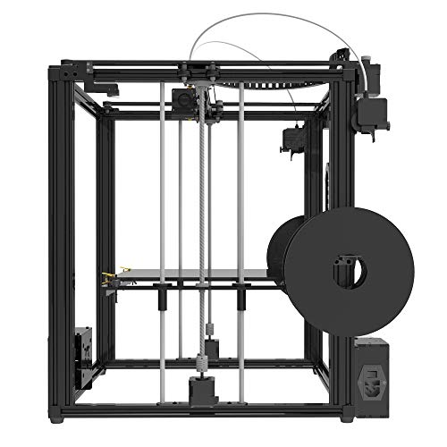 TRONXY X5ST-2E 3D-Drucker 2 in 1 Out-Extrusions-Bausatz, Filament-Sensor-Resume-Druckwürfel-Vollmetallquadrat mit 3,5-Zoll-Touchscreen Großes Druckformat 330 * 330 * 400 - 4