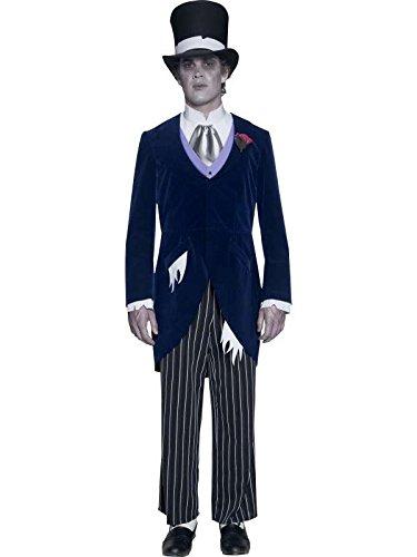marie Kostüm Gothic, Schwarz, Größe m, (Marie Noir Kostüm De)