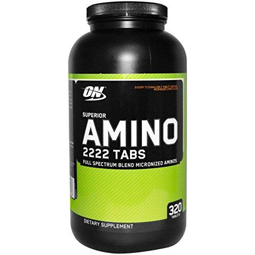 Optimum Nutrition Superior Amino 2222 Capsules, 320 Capsules