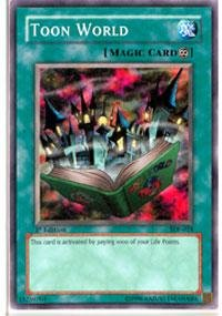 Yu-Gi-Oh! - Toon World (SDP-024) - Starter Deck Pegasus - 1st Edition - Common by Yu-Gi-Oh! (Starter Pegasus Deck)