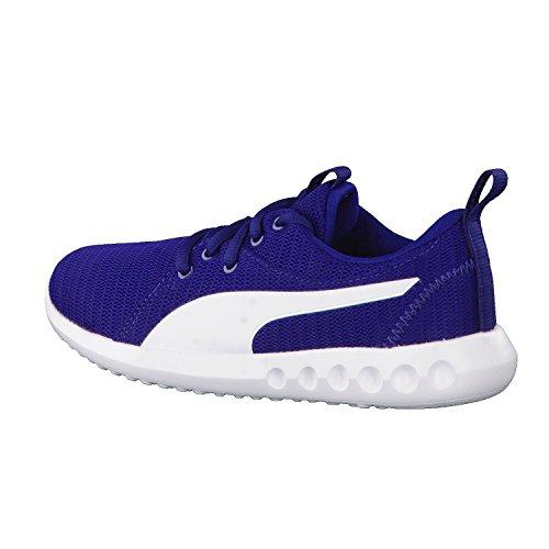 Puma Unisex-Kinder Carson 2 Jr Sneaker Blau (Blue Depths-White)