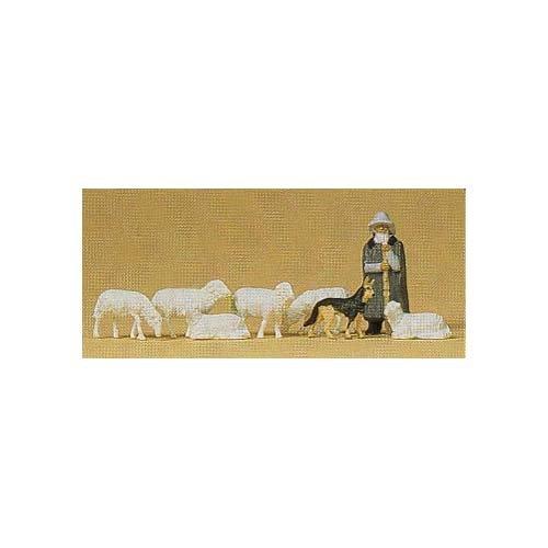 Preiser 14160 Schäferei, M: 1:87, Spur H0