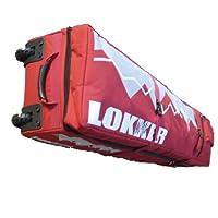 LOKKER Twin Deck Team Wheelie Snowboard Bag