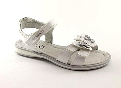 BLACK JARDINS JUNIOR 28060 sandales enfant papillon blanc