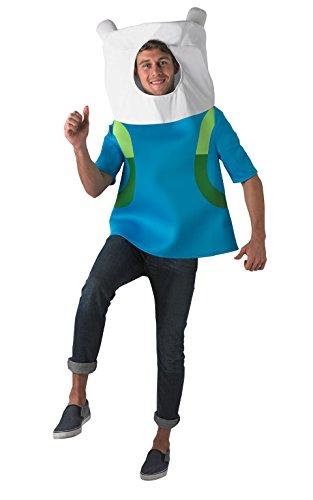 Time Hunde Adventure Kostüm - Rubie 's Offizielles Erwachsene 's Finn das menschliche Kostüm Adventure Time-One Size