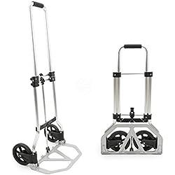 Cablematic–aluminio carga de carretilla de plegado y 45kg 97cm