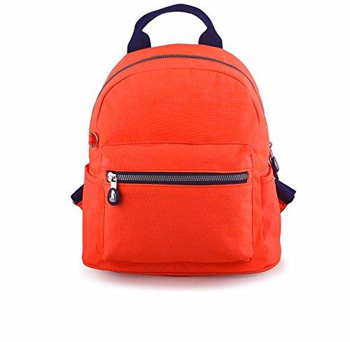 nuova studentessa borsa, signore del tempo libero borsa borsa da viaggio,funghi blu arancione