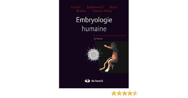 embryologie humaine larsen