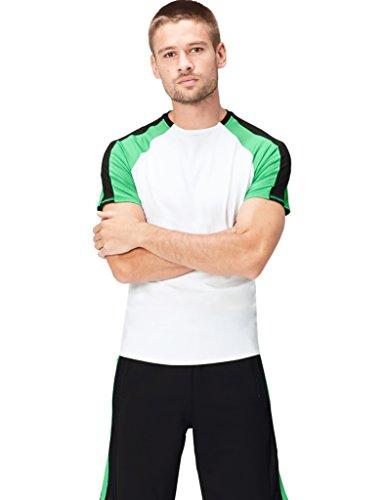 Activewear Tank Top Herren, Weiß, Medium - Apple-weiß-kleidung