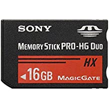 Sony MS-HX16B - Tarjeta de memoria Sony Memory Stick PRO-HG Duo de 16 GB (50 MB/s), negro