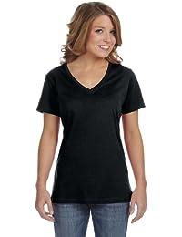 Anvil - T-shirt à col en V - Femme