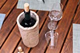 STEIN:WERK Weinkühler Flaschenkühler Dolomit Kalkstein Stein Kühlmanschette | Kühler für Weinflaschen - 7