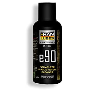 Han Lubes Complete Fuel System Cleaner e90 Injector Carburetor Additive Petrol & Diesel 50ml Car & Bike Accessories