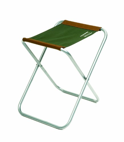 41bCEWoXV L - Shakespeare Folding Stool - Brown/Green