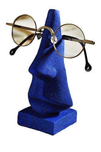Gipsmanufaktur Brillenhalter Brillennase dunkelblau steinfarbig