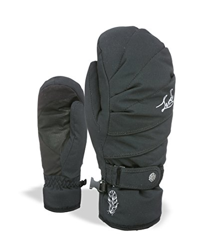 Level Damen Handschuhe Ultralite W Mitt, Black, 7