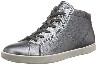Ecco ECCO AIMEE, Women's Hi-Top Sneakers, Silver (DARK SHADOW MET./MARINE59960), 5 UK ( 38 EU)