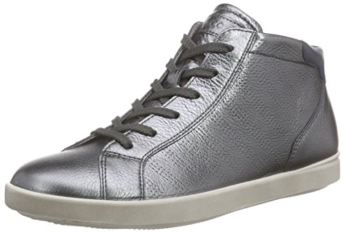 Ecco ECCO AIMEE, Sneakers Hautes femme Argent (DARK SHADOW MET./MARINE59960)