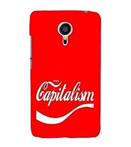 EPICCASE Capitalism Mobile Back Case Cover For Meizu MX 5 (Designer Case)