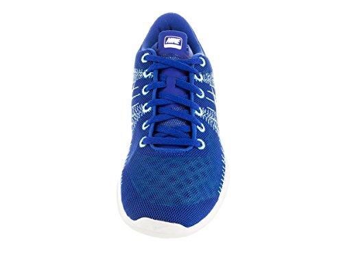 Flex Fury scarpa da running Game Royal/White/Grn Glow/Mnt