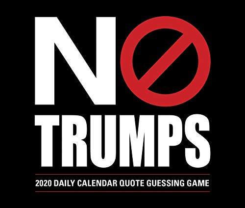 No Trumps 2020 Calendar