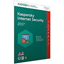 Kaspersky Internet Security 2017 | 5 Geräte | 1 Jahr | PC/Mac/Android | Download