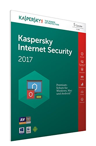 Kaspersky Internet Security 2017   5 Geräte   1 Jahr   PC/Mac/Android   Download