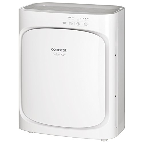 CONCEPT Hausgeräte CA1000 Luftreiniger, Kunststoff, Weiß
