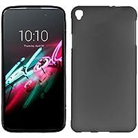 Funda de Silicona Premium color Negro para Alcatel One Touch Pop C9