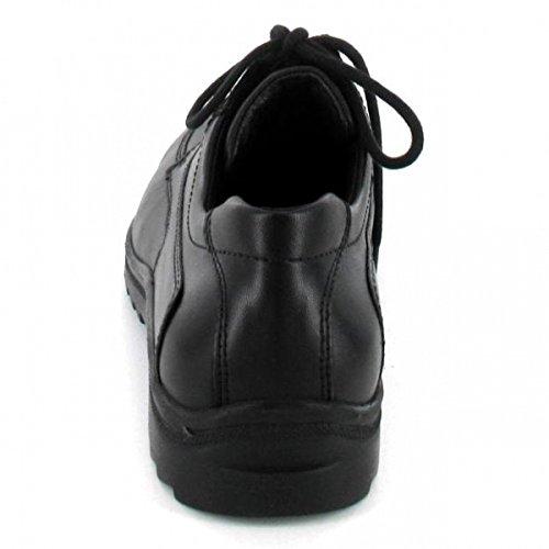Waldläufer , Chaussures de ville à lacets pour homme schwarz