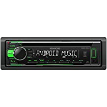 Radio CD, USB, AUX, Android, pre-out. Ilum Verde