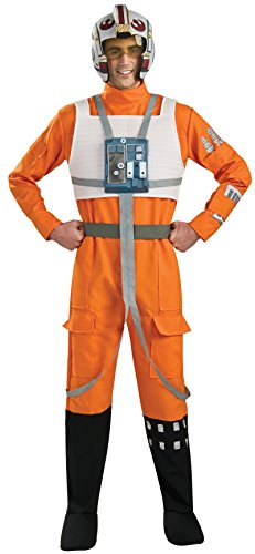 Deluxe X-Wing Fighter Pilot - Star Wars - Adult Kostüm - STD - 42 (Kostüme Wars Wing Pilot Star X)