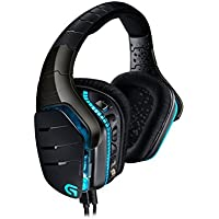 Logitech, casque gaming G633 Artemis Spectrum Pro filaire, son surround Dolby 7.1 pour PC Xbox One PS4, microphone à réduction de bruit entièrement personnalisable, LIGHTSYNC RVB, Noir