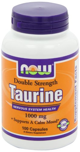 Now-Foods-Taurin-Double-Strength-1000-mg-100-Kapseln