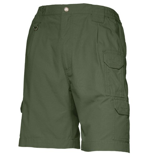 5.11 Tactical Shorts (5.11 Tactical Herren 22,9 cm Original Arbeitshose Atmungsaktiv Baumwolle Canvas Stoff Style 73285, Herren, OD Green, 30)