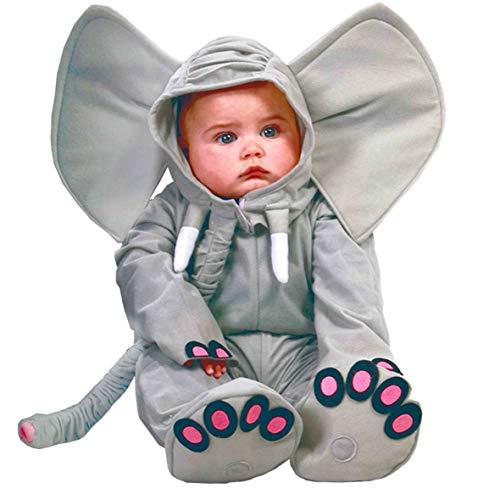 Guirca - Disfraz de Elefante para bebé