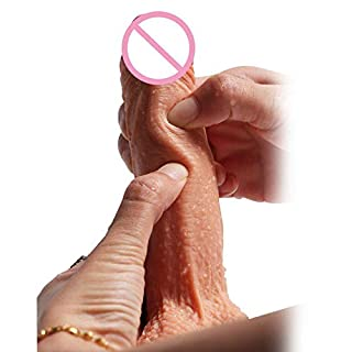 ADNYIDAWAN ACEHE Silicone Adult Women Sex Toy G-Spot AV Stick Waterproof Handheld Massager SB ADNYIDAWAN is Cheap and Good (Color : Nude)