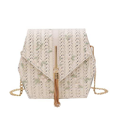 OIKAY Mode Damen Tasche Handtasche Schultertasche Umhängetasche Mode Neue Handtasche Frauen Umhängetasche Schultertasche Strand Elegant Tasche Mädchen 0605@033
