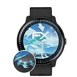 atFoliX Schutzfolie passend für Garmin Vivoactive 3 Music Folie, ultraklare & Flexible FX Bildschirmschutzfolie (3X)