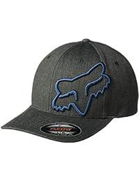 31e0b6adcee48 Fox Racing Men s Clouded Flexfit Hat Black Navy LXL