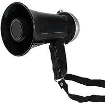 Mini Megafono,10 W, Altoparlante e sirena, Volume regolabile