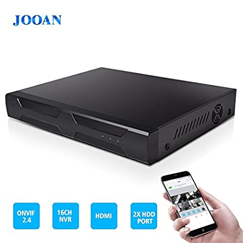 JOOAN HD 16CH NVR P2P ONVIF Network Video Recorder Surveillance