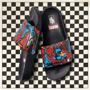 Vans Marvel Spiderman Slide-On Sandale schwarz EU43
