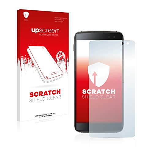 upscreen Scratch Shield Displayschutzfolie BlackBerry DTEK60 Schutzfolie – Kristallklar, Kratzschutz, Anti-Fingerprint, Made in Germany (Blackberry Geschnitten)
